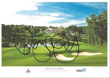 Rory McIlroy Signed 2011 US Open 5x7 Postcard/Photo Congressional