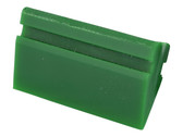 "3.5"" Green Turbo Squeegee (no handle) - carcareshoppe.com"