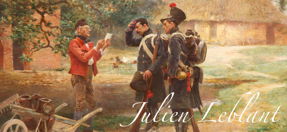 Julien LeBlant Antique Painting
