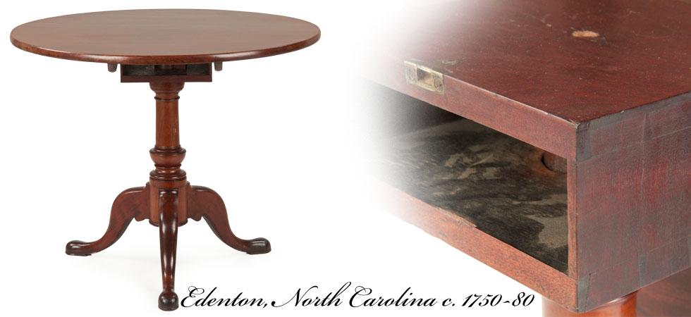 North Carolina Tea Table, 18th Century