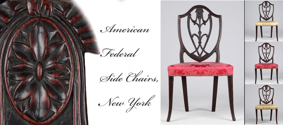 American Federal Antique Chairs