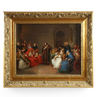 Karl Friedrich Lessing (German, 1808-1880) Painting of John Huss