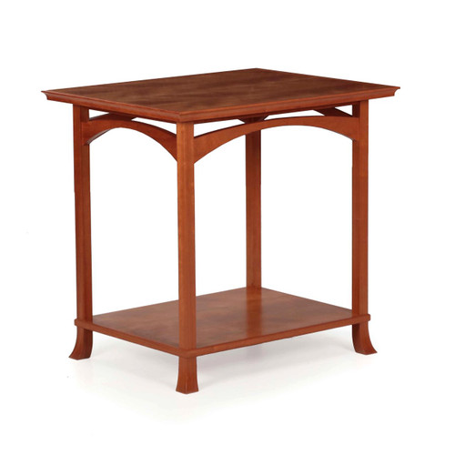 American Studio Made Cherrywood End Table circa 1998
