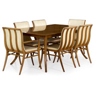 T.H. Robsjohn-Gibbings for Widdicomb Dining Table and Six Chairs