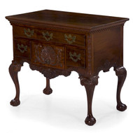 American Chippendale Style Lowboy Chest of Drawers