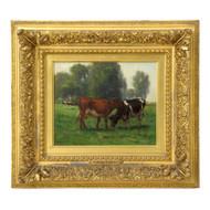 Carleton Wiggins (American, 1848-1932) Landscape of Cows