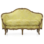 An Exceptional Louis XV Period Carved Beechwood Canape