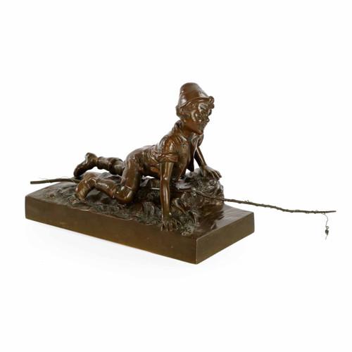 Austrian Cabinet Bronze by the Berndorf Foundry, Vienna c. 1900-15