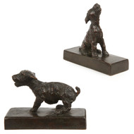 "Edith B. Parsons (American, 1878-1956) ""Serenaders"" Bronze Sculpture"