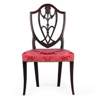 American Federal Period Side Chair in Original Surface, New York c. 1790
