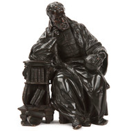 Fine Bronze Sculpture of Galileo, France c. 19th Century