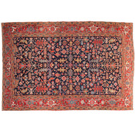 Fine Antique Heriz Persian Rug, Early 20th Century