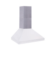 Custom Seamless Flue for 10 1/2' Ceiling
