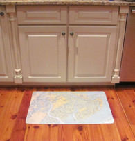 Floor Mat with your Custom Nautical Chart