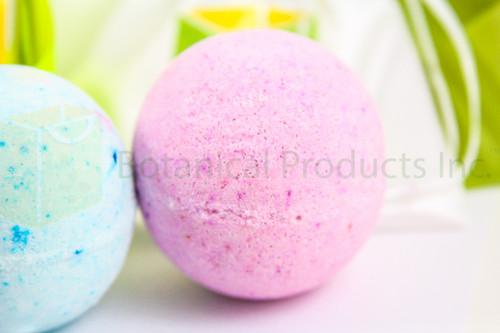 Botanical Products Inc. Sweet Slumber Organic Bath Bomb. Fragrant, colourful and intimately soothing to your whole body.
