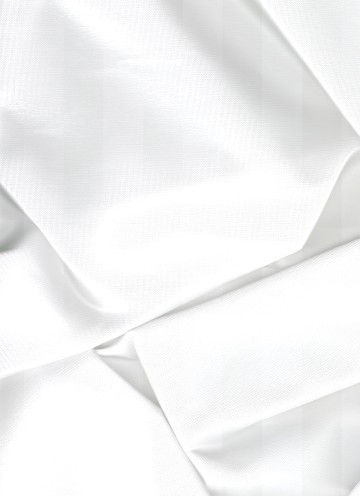 White Iridescent Taffeta Fabric
