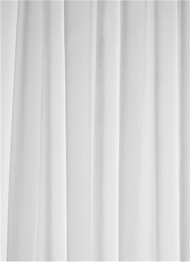 White Chiffon Sheer Dress Fabric