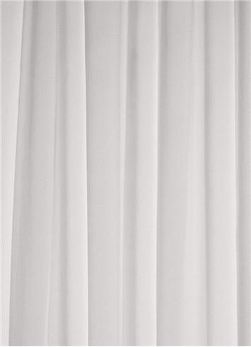 Diamond White Sheer Dress Fabric