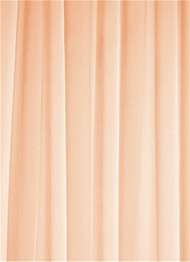 Peach Sheer Dress Fabric