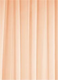 Peach Sheer Dress Fabric