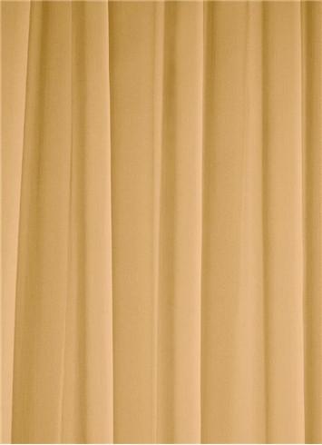 Gold Sheer Dress Fabric