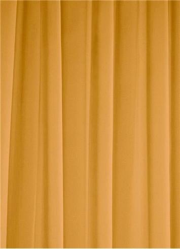 Antique Gold Sheer Dress Fabric