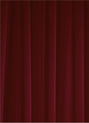 Burgundy Sheer Dress Fabric