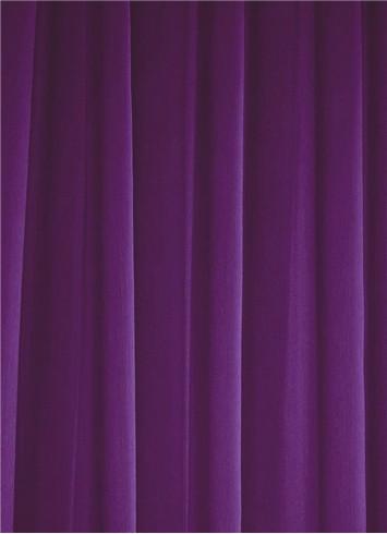 Purple Sheer Dress Fabric