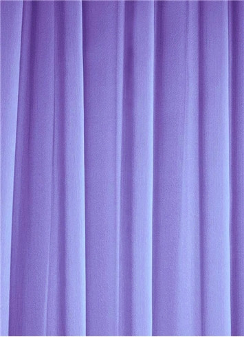 Periwinkle Sheer Dress Fabric
