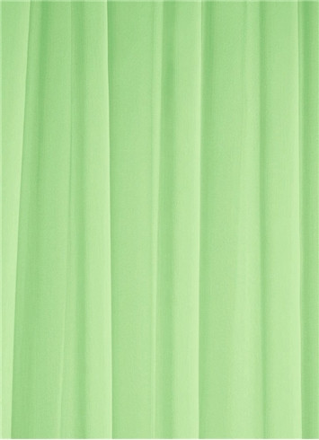 Apple Green Sheer Dress Fabric