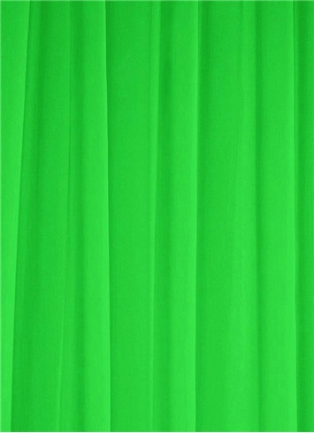 Chartreuse Sheer Dress Fabric