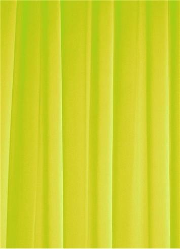 Lime Sheer Dress Fabric