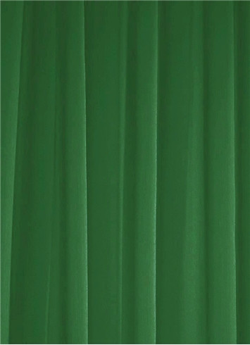 Forest Green Sheer Dress Fabric