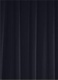 Midnight Navy Sheer Dress Fabric