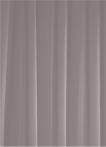 Grey Sheer Dress Fabric