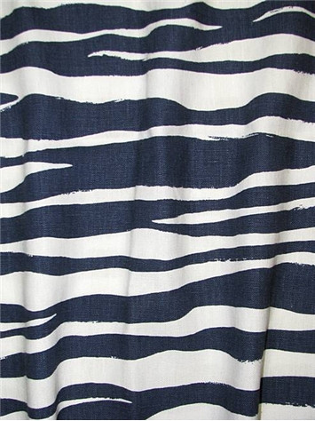 Mona Zebra Navy - Kate Spade Fabric