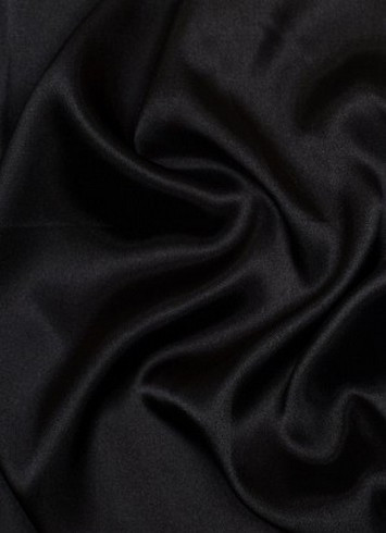 Black dress lining fabric