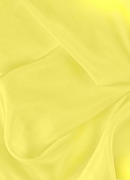 Lemon dress lining fabric