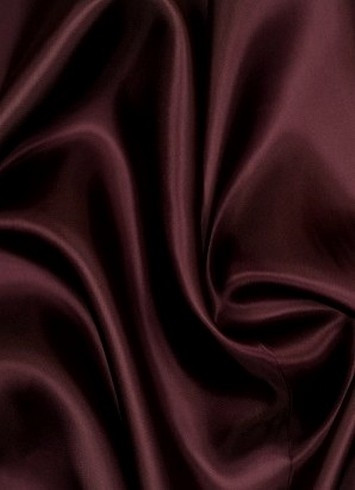 Burgundy dress lining fabric