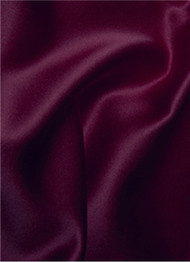 Ultra Burgundy Duchess Satin Fabric
