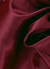 Burgundy Crepe Back Satin Fabric