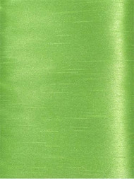 Lime Poly Shantung Fabric