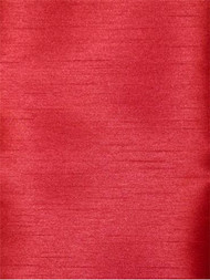 Red Poly Shantung Fabric