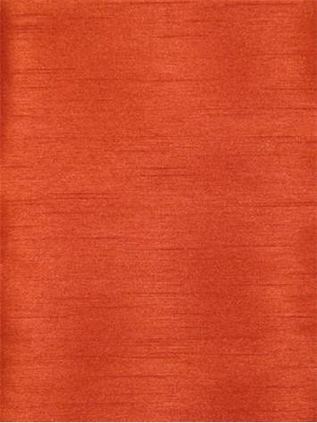 Brick Poly Shantung Fabric