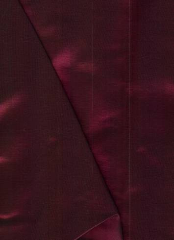 Wine Iridescent Taffeta Fabric
