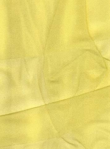Lemon Sparkle Organza Fabric