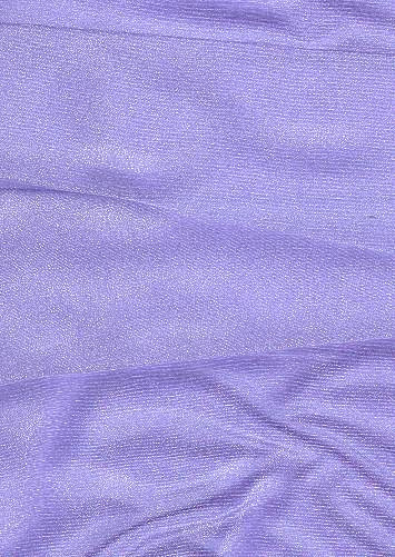 Periwinkle Sparkle Organza Fabric