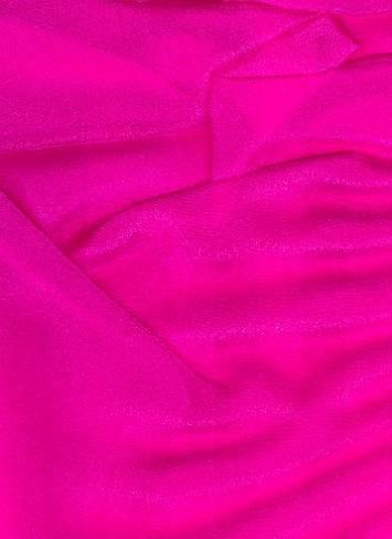 Fuchsia Sparkle Organza Fabric