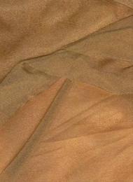 Antique Gold Sparkle Organza Fabric