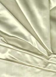 Noble Silk Duchess Satin Ivory Fabric